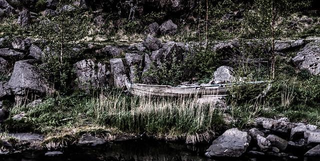 Boat at Helleren