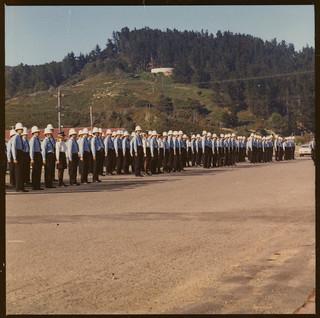 Police Recruits, Police College, Porirua c1970 - c1980