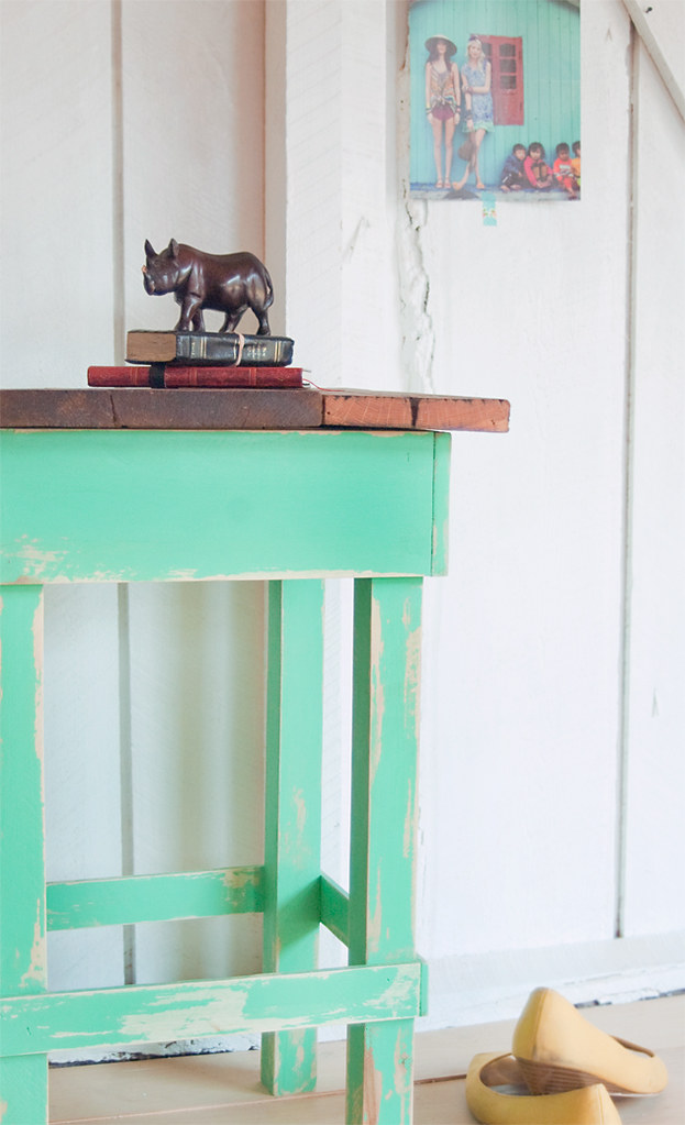 508made: minty side table