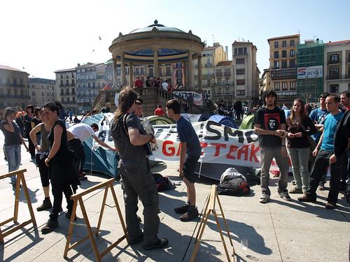 #MartxokoIraultza Gaztelu plazan6