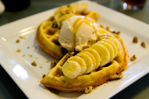 Bananas Foster at WafflesINCaffeinated