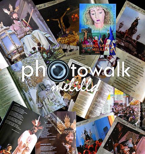 Colaboración Photowalk Melilla Programa Oficial de Semana Santa 2012