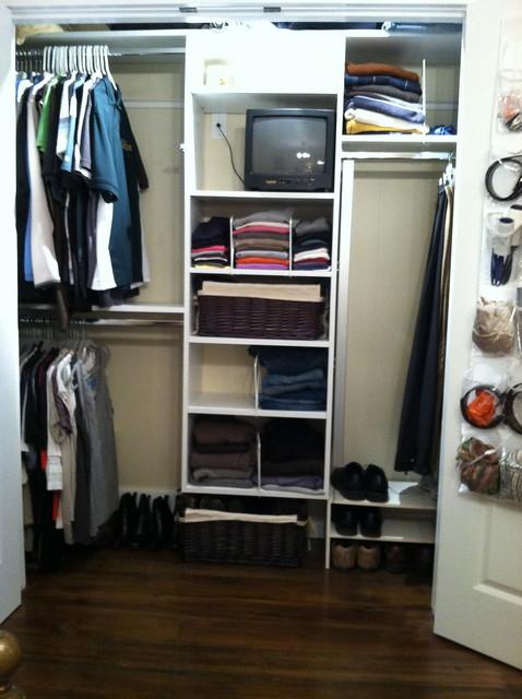 A closer look at our minimalist wardrobe andrea dekker - Wardrobe for small spaces minimalist ...