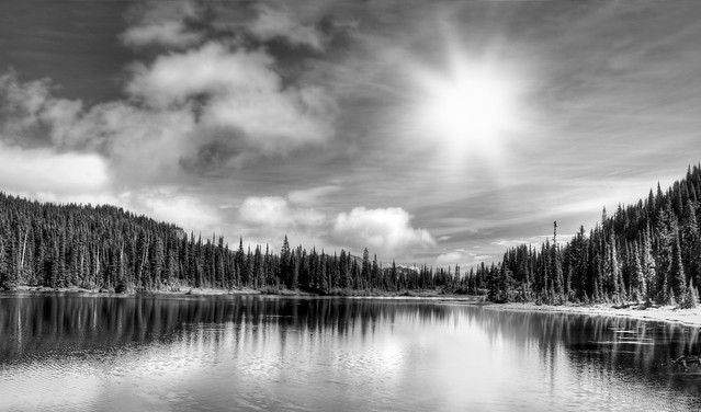 Reflection Lake at Mount Rainier National Park