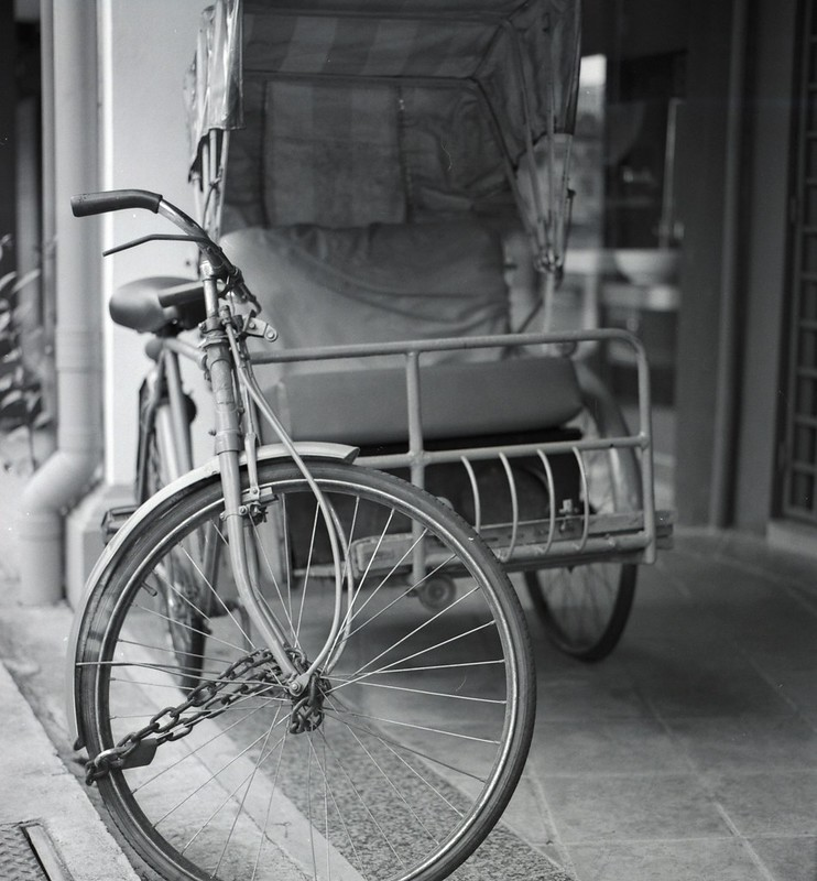 Old trishaw