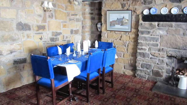 Lion Inn - dining room