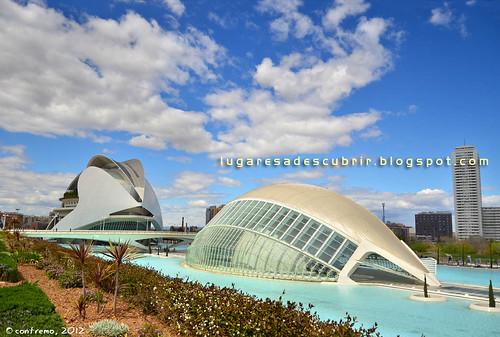 Ciudad de las Artes y las Ciencias (Valencia, España)