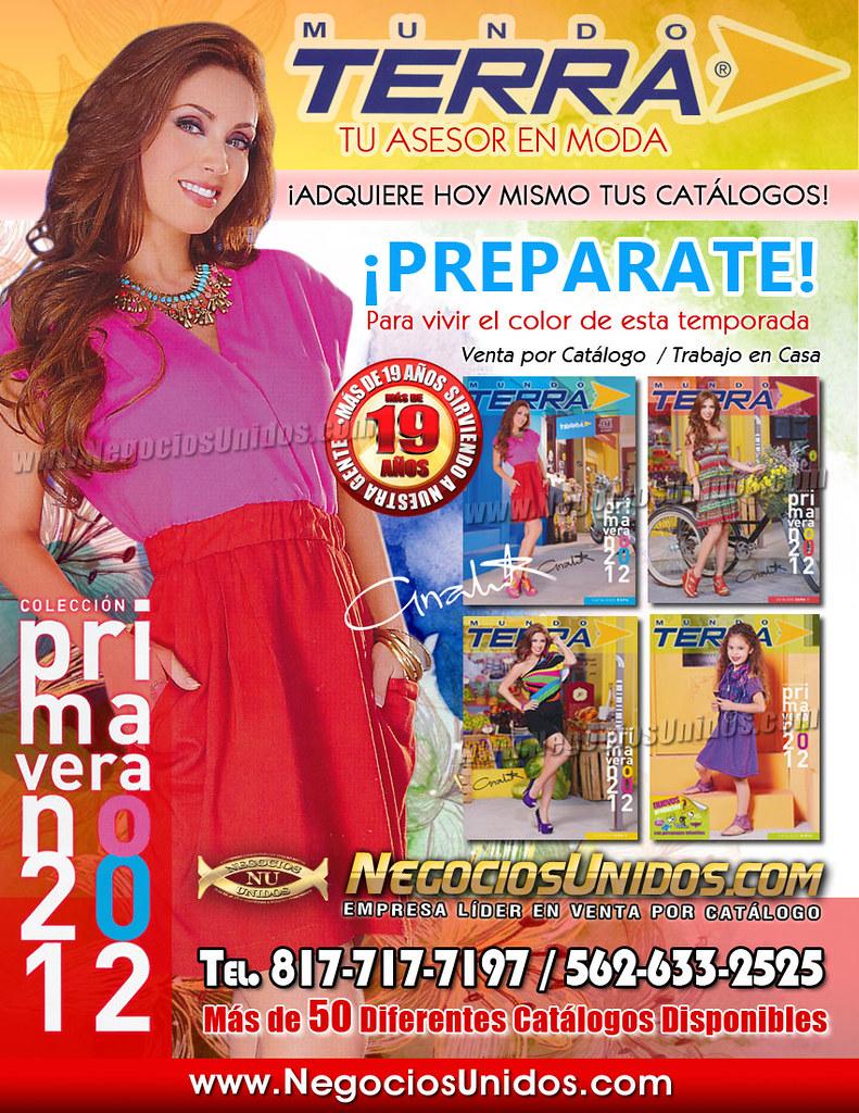 f6dc027b8c7f8 ... Bolsa de Trabajo CatalogoTerra Moda 2011 Vestidos Blusas Mundo Terra  Calzado Oferta de Negocio
