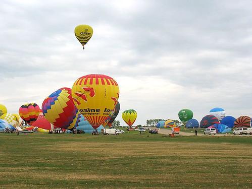Mondial Air Ballon en Lorraine