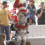 KLRU 50th Birthday Party 2012 142 KUT's Bob Branson reads with The Cat in the Hat
