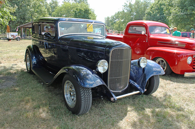 1932 ford victoria 2 door sedan custom 2 of 6 flickr for 1932 ford 2 door coupe