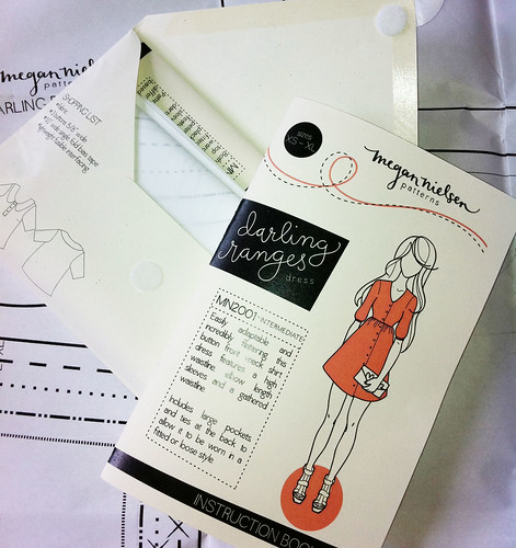 """Darling Ranges"" Dress pattern booklet"