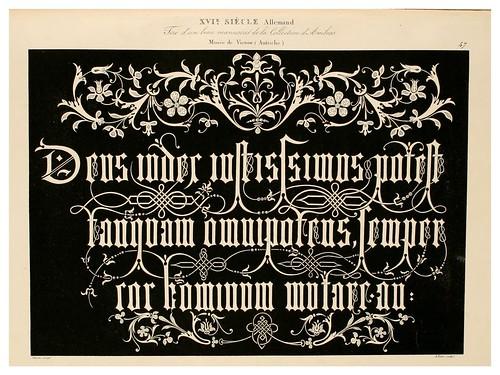 015-Alphabet-Album collection de soixante feuilles d'alphabets historiés 1843- Joseph-Balthazar Silvestre