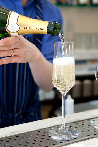 "Pouring the Pierre Paillard ""Cuvee"" Daniel, NV Champagne"