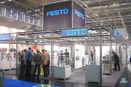 Стенд Festo на выставке Anuga FoodTec