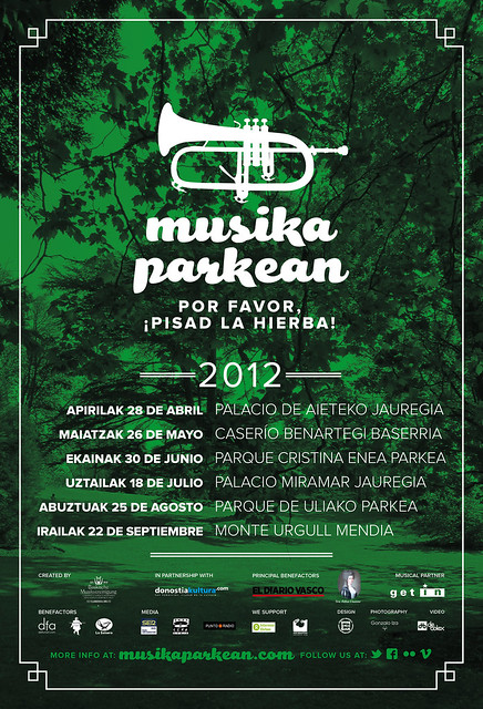Musika Parkean 2012 - poster