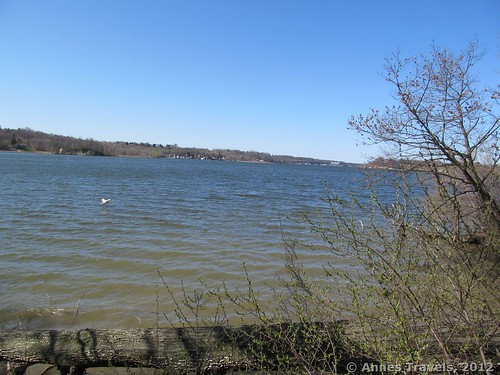 Irondequoit Bay from Abraham Lincoln Park, Webster, New York