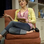Geneva Carr in Huntington Theatre Company's Rabbit Hole at the Boston University Theatre. Part of the 2006-2007 season. Photo: Eric Antoniou.