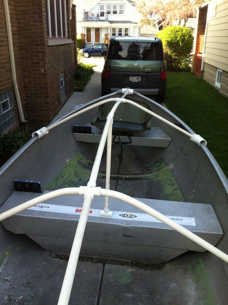 Aluminum Boat Enclosures : Holy boat chapter diy winter cover sailboat