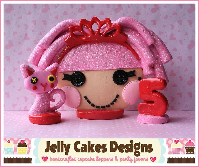 Jewel Sparkles Keepsake Cake Topper