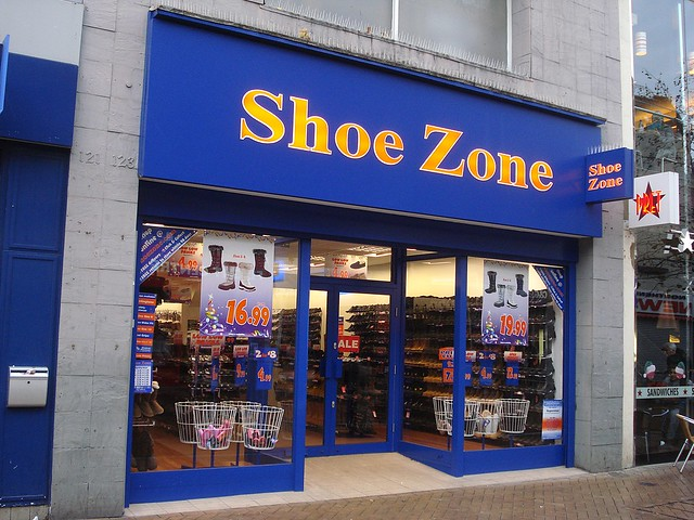 Shoe Zone London Uk