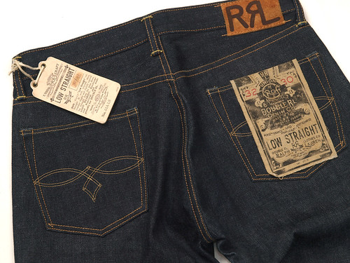 RRL / Low Straight Rigid Denim