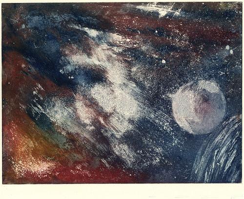 008-En el cielo de Neptuno- Serie Cosmos 1984- René Bord- Bibliothèque Municipale de Lyon