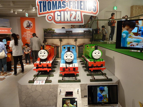 THOMAS & FRIENDS in GINZA@ソニービル 2F