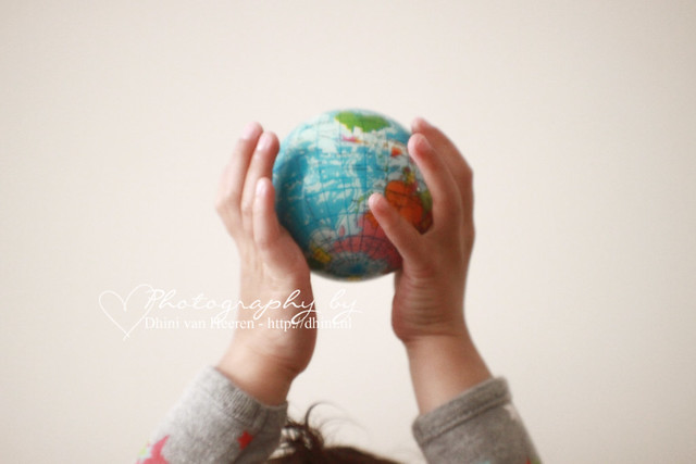 The world on my hand