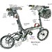 "Bike Friday - ""Tikit"" folding bike"