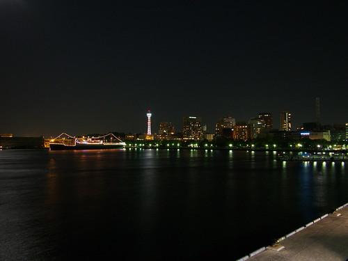 山下公園・横浜マリンタワー・氷川丸