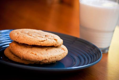 Gluten free vegan pb cookies