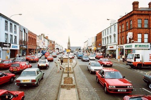 Middle Row, Lurgan, Co. Armagh, 1990