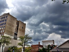 More clouds downtown