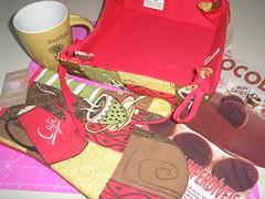 mimos caneca com café e chocolate!!!