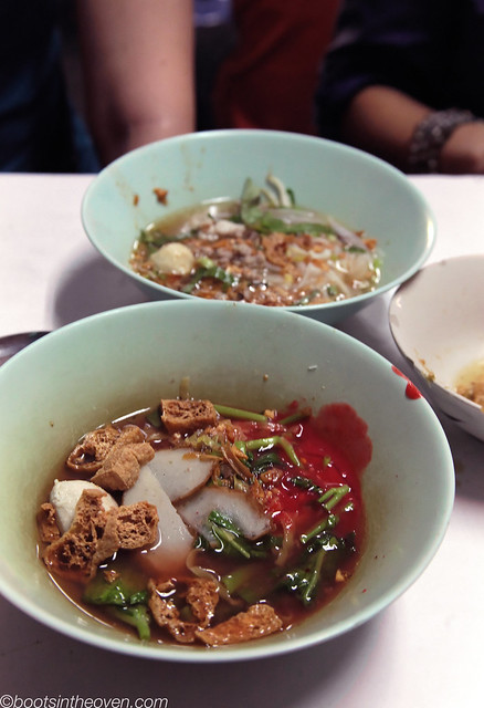 One type of boat noodle
