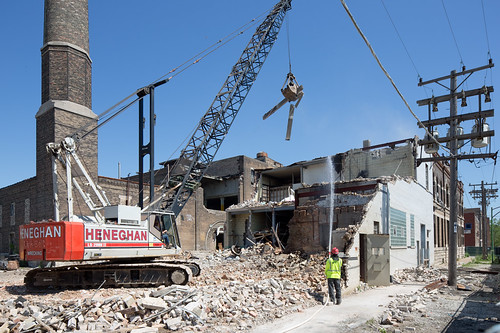 Brand Brewing Demolition