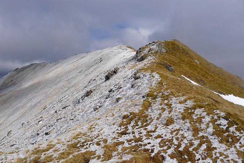 Sgurr Choinnich's South Ridge