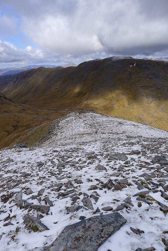 Sgurr na Feartaig from Sgurr Choinnich's west ridge