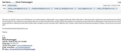 email dibajak