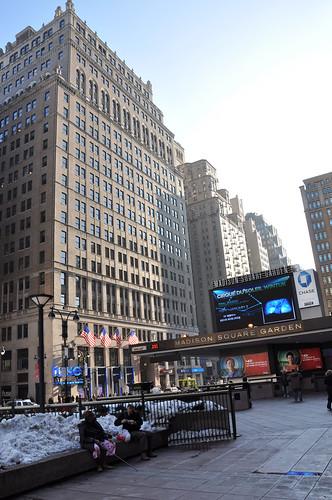 Hotel Pennsylvania and Madison Square Garden entrance