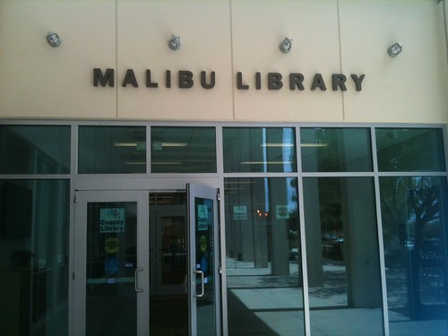 malibu library reopens