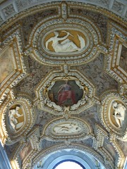 In the Doge's Palace - Ceiling of Scala d'Oro