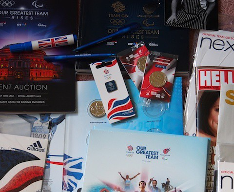 Team GB goody bag