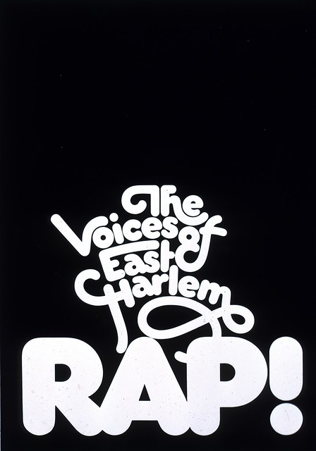"""The Voices Of East Harlem Rap!"" poster"