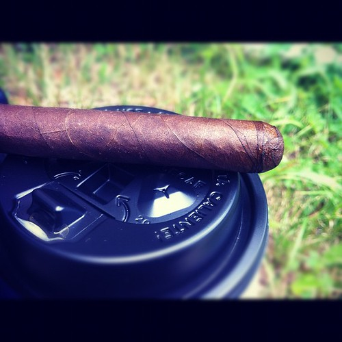 Smoking a @tatuajecigars Verocu #5, waiting on @humidormuse