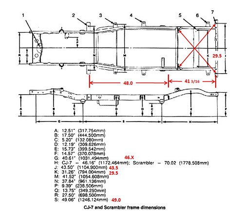 715931 Jeep Cj Frame Dimensions on 1951 Ford F1 Chassis