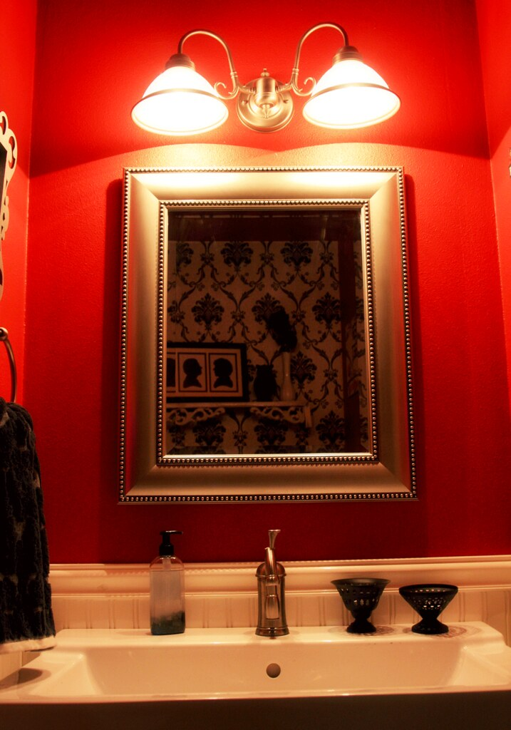 The very red room.