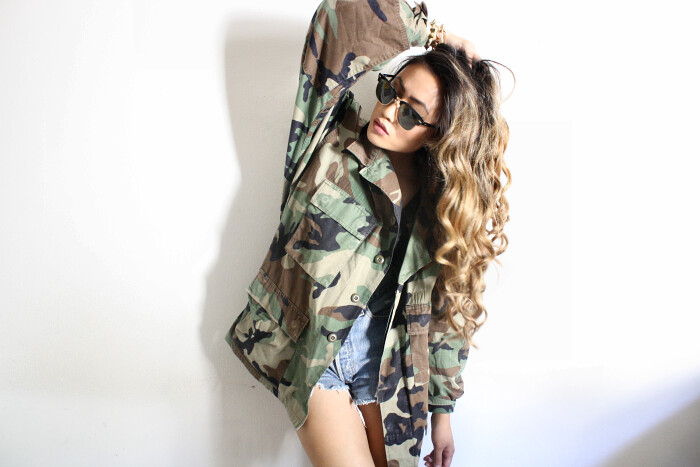 uo Mens Camo Jacket H&m