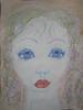 watercolour girl